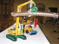 Construction Truck Scale Model Toy Show IMCATS-2004-005-s