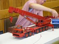 Construction Truck Scale Model Toy Show IMCATS-2008-085-s