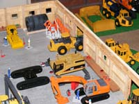 Construction Truck Scale Model Toy Show IMCATS-2008-164-s