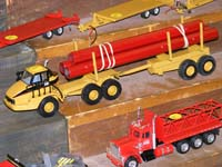 Construction Truck Scale Model Toy Show IMCATS-2008-194-s