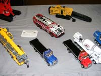 Construction Truck Scale Model Toy Show IMCATS-2008-200-s
