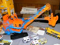 Construction Truck Scale Model Toy Show IMCATS-2008-205-s