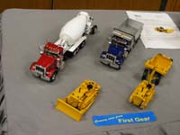 Construction Truck Scale Model Toy Show IMCATS-2009-061-s