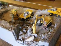 Construction Truck Scale Model Toy Show IMCATS-2009-091-s