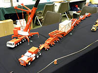 Construction Truck Scale Model Toy Show IMCATS-2010-155-s