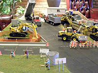 Construction Truck Scale Model Toy Show IMCATS-2010-165-s