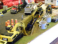 Construction Truck Scale Model Toy Show IMCATS-2010-166-s
