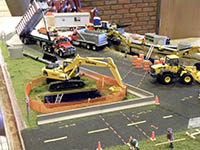 Construction Truck Scale Model Toy Show IMCATS-2010-168-s
