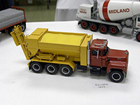 Construction Truck Scale Model Toy Show IMCATS-2011-040-s