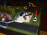 Construction Truck Scale Model Toy Show IMCATS-2011-118-s