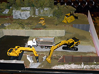 Construction Truck Scale Model Toy Show IMCATS-2011-125-s