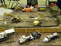 Construction Truck Scale Model Toy Show IMCATS-2011-153-s