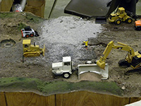 Construction Truck Scale Model Toy Show IMCATS-2011-154-s