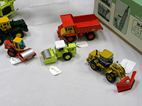 Construction Truck Scale Model Toy Show IMCATS-2011-159-s