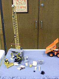 Construction Truck Scale Model Toy Show IMCATS-2012-001-s