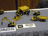 Construction Truck Scale Model Toy Show IMCATS-2012-003-s