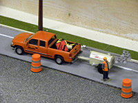 Construction Truck Scale Model Toy Show IMCATS-2012-049-s