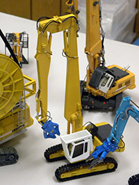 Construction Truck Scale Model Toy Show IMCATS-2012-076-s