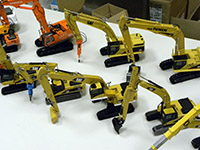 Construction Truck Scale Model Toy Show IMCATS-2012-084-s