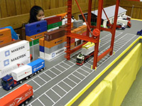 Construction Truck Scale Model Toy Show IMCATS-2012-140-s