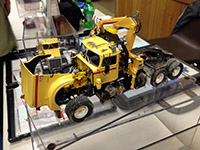 Construction Truck Scale Model Toy Show IMCATS-2012-152-s