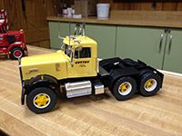 Construction Truck Scale Model Toy Show IMCATS-2012-178-s