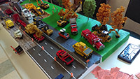 Construction Truck Scale Model Toy Show IMCATS-2016-082-s