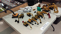 Construction Truck Scale Model Toy Show IMCATS-2016-104-s
