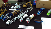 Construction Truck Scale Model Toy Show IMCATS-2016-108-s