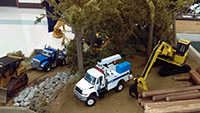 Construction Truck Scale Model Toy Show IMCATS-2016-120-s