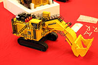 Construction Truck Scale Model Toy Show IMCATS-2018-055-s