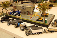 IMCATS 2018 Construction Model Toy Show diorama contest first place winner