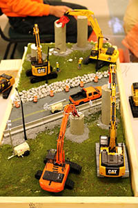 Construction Truck Scale Model Toy Show IMCATS-2018-079-s