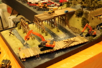 IMCATS 2019 Construction Model Toy Show diorama contest first place winner